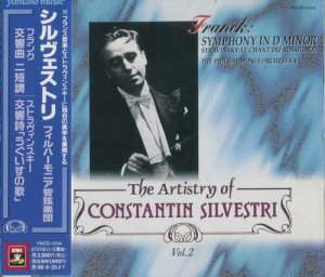 Constantin Silvestri - Franck: Symphony in D minor (1996)