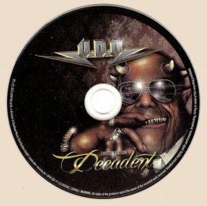 U.D.O. - Decadent [Limited Edition] (2015)