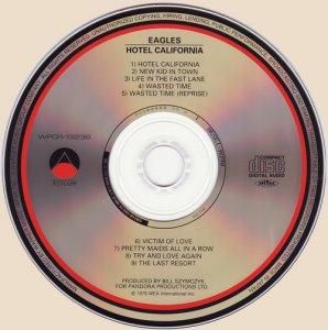 cd-Eagles - Hotel California