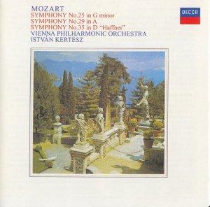 Mozart - Symphonien 25, 29, 35 (1972)