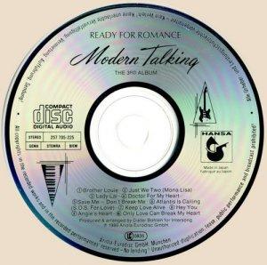 Modern Talking - Ready For Romance - The 3rd Album (1986)