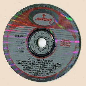 CD-Yello - One Second