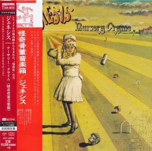 Genesis - Nursery Cryme (1971) [Platinum SHM-CD]