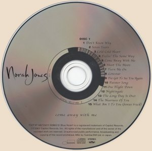 Norah Jones - Come Away With Me (2002)