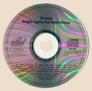Smokie - Bright Lights And Back Alleys (1977)