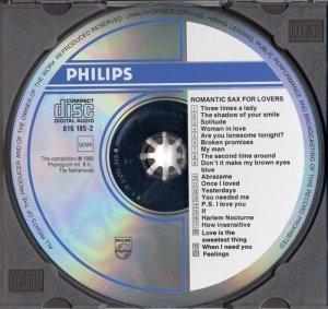 VA - Romantic Sax for Lovers (1985)