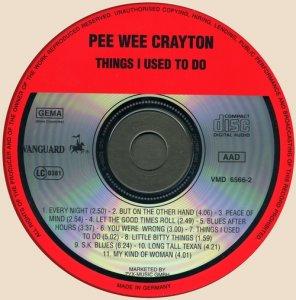 Pee Wee Crayton - Pee Wee Crayton (1971)
