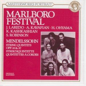 Mendelssohn - String Quintets (1978)