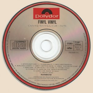 Rainbow - Finyl Vinyl (1986)
