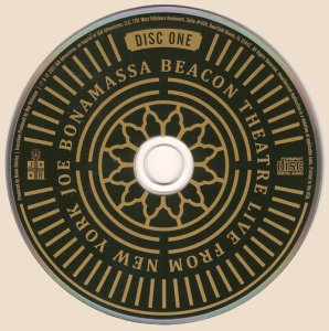 Joe Bonamassa - Beacon Theatre - Live From New York (2016)