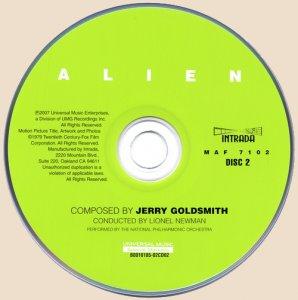 Jerry Goldsmith - Alien / Чужой (2007)
