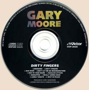 Gary Moore - Dirty Fingers (1983)