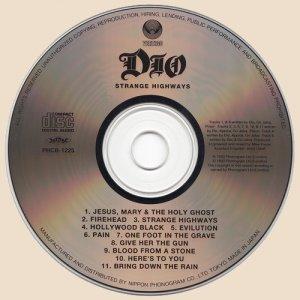 Dio - Strange Highways (1993)