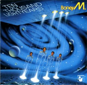 Boney M.– 10 000 Lightyears (1-St Press)