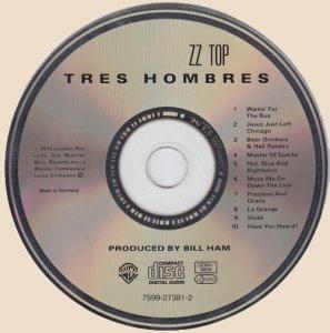 CD ZZ Top - Tres Hombres