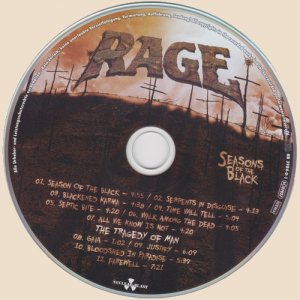 Rage - Seasons Of The Black (2017)