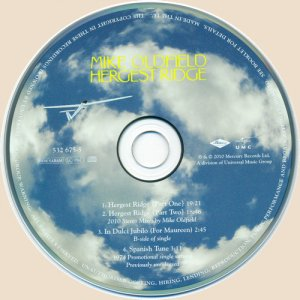 Mike Oldfield - Hergest Ridge CD1