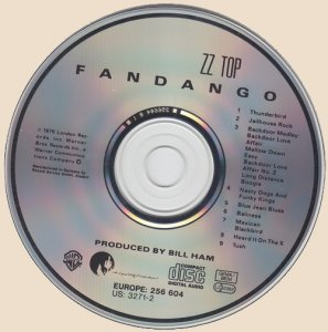 ZZ Top - Fandango! (CD)