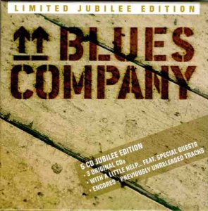 Blues Company – Limited Jubilee Edition – 5CD Box-Set (2017)