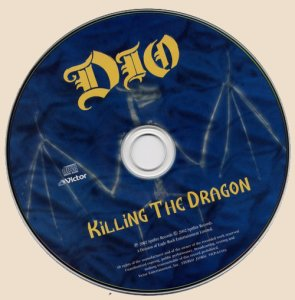 CD-Dio - Killing The Dragon (2002)