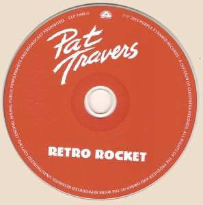 CD-Pat Travers - Retro Rocket - 2015