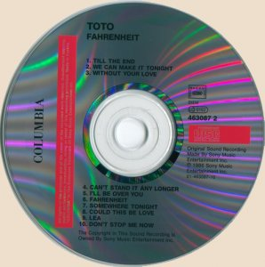 CD_Toto - Fahrenheit