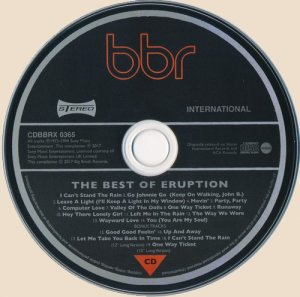 CD_The Best Of Eruption