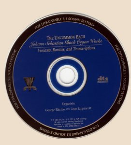 CD_Johann Sebastian Bach Organ Works
