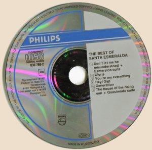 CD_Best Of Santa Esmeralda