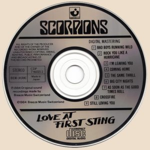CD_Love At First Sting