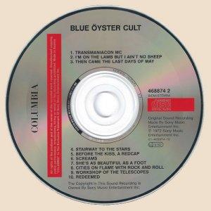 Blue Öyster Cult- Blue Öyster Cult (1972)