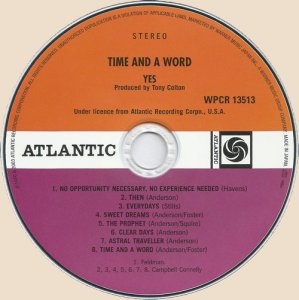 CD_Time And A Word