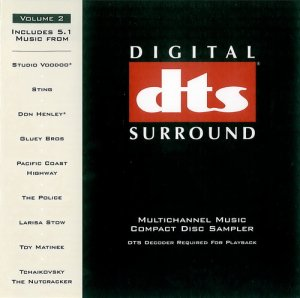 DTS Multichannel Music Compact Disc Sampler Vol.2
