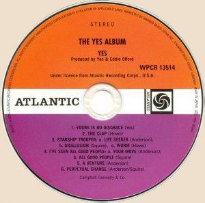 CD-The Yes Album (1971)