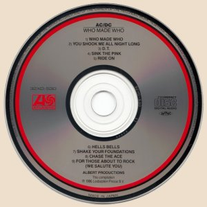 CD-AC/DC - Who Made Who (1986)