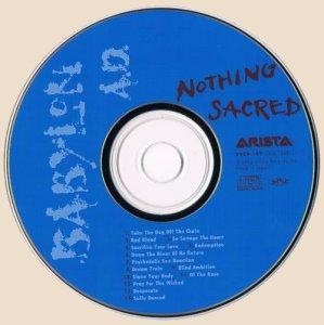 CD-Nothing Sacred (1992)