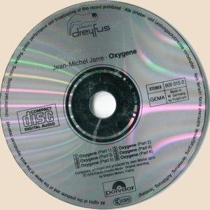 CD-Oxygene (1976)