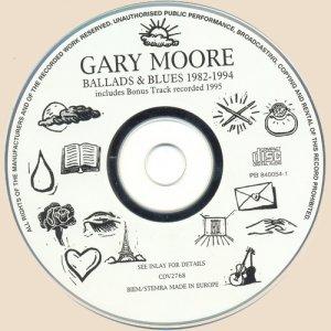 CD-Gary Moore - Ballads
