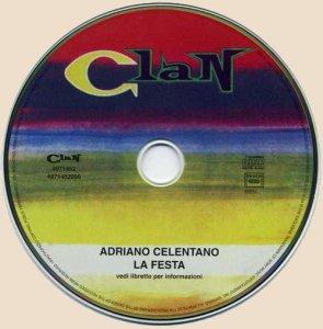 CD-Adriano Celentano - La Festa (1966)
