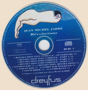 CD-Jean Michel Jarre - Revolutions (1988)
