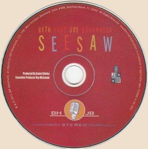 CD-Beth Hart and Joe Bonamassa – Seesaw