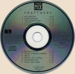 CD-Kraftwerk - The Mix (1991)