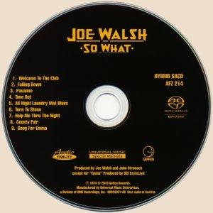 cd-Joe Walsh - So What (1974)