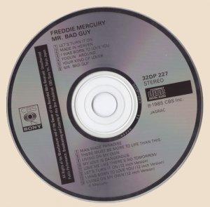 CD-Freddie Mercury - Mr. Bad Guy (1985)