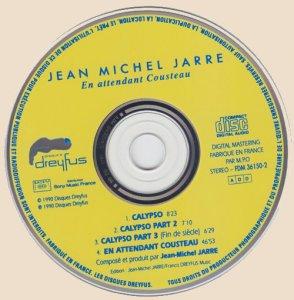 CD-Jean Michel Jarre - En Attendant Cousteau (1990)