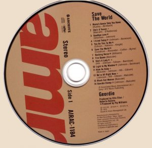 CD-Geordie - Save The World (1976)