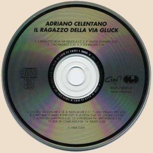 CD-Adriano Celentano - Il Ragazzo Della Via Gluck