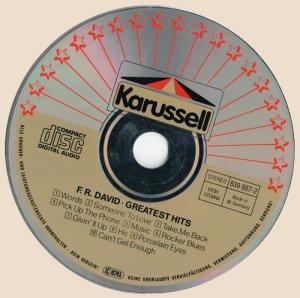 CD-F. R. David - Greatest Hits (Words)