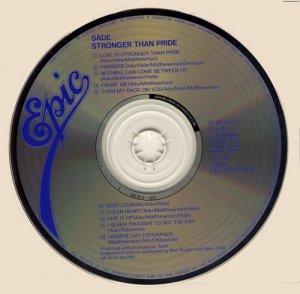CD-Sade - Stronger Than Pride