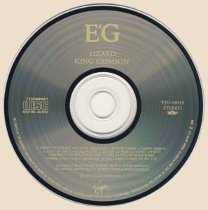 CD-King Crimson - Lizard